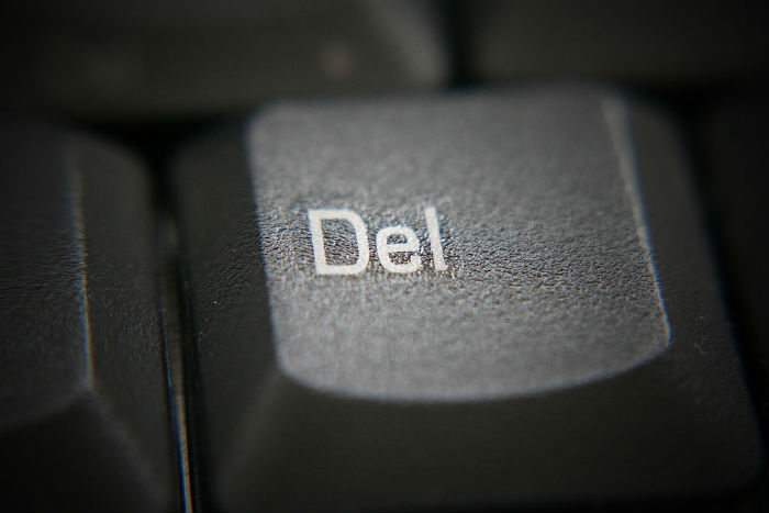 how to delete someone in real life